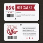 20+ Free Coupon and Gift Voucher Templates Vector Download
