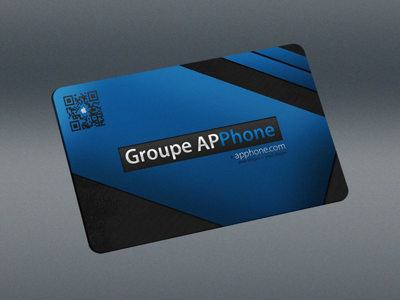 Apphone Pro – Free Business Card PSD