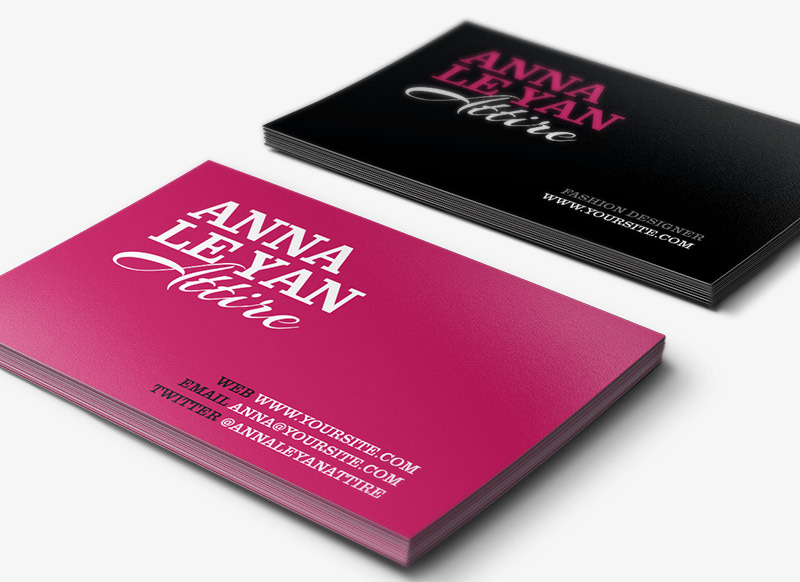 Attire Free Business Card PSD