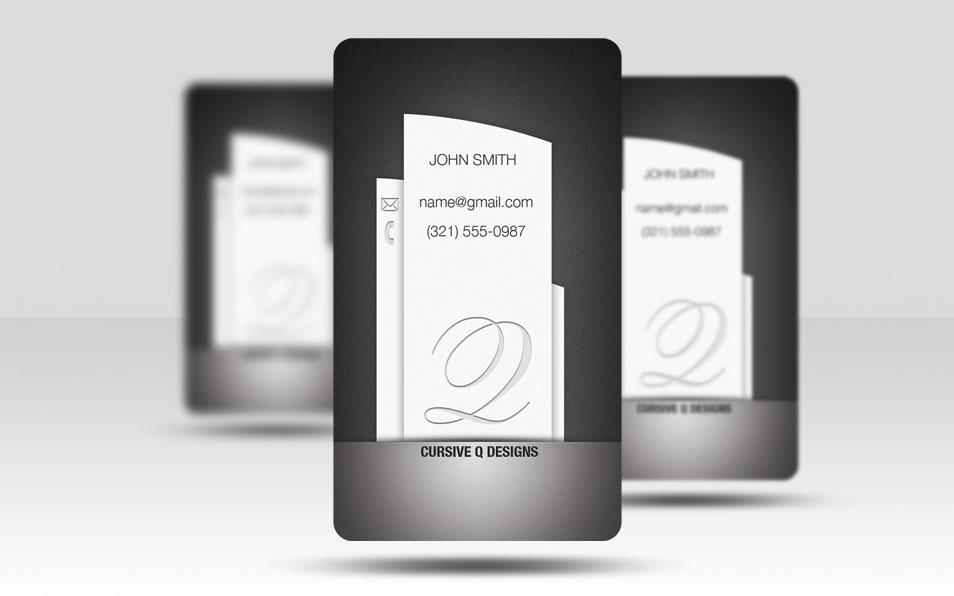 Business Card Template Pillar