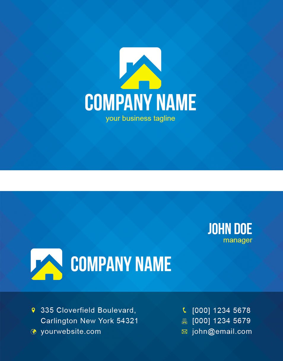 Cool Creative Business Card Template