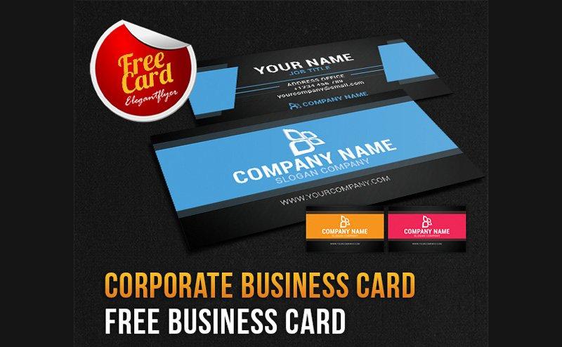 Corporate Business Card PSD 3