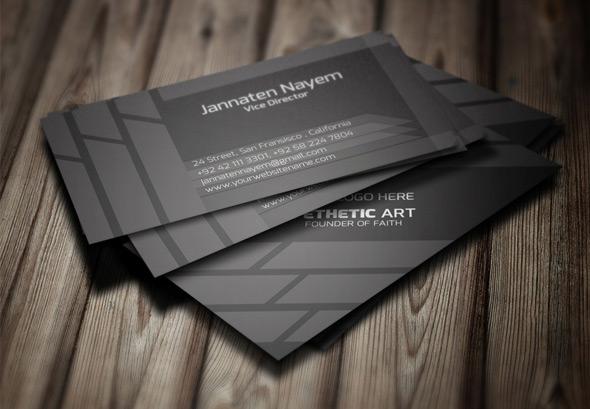 Creative Business Card PSD 2