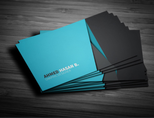 Creative Business Card Template PSD 2