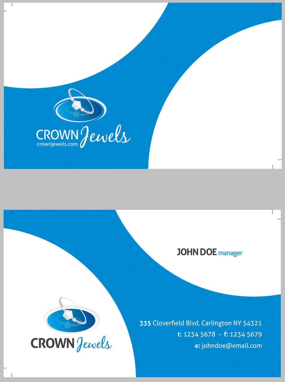 Creative Modern Corporate Business Card Template