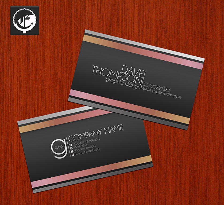 Free Bespoke Business Card PSD