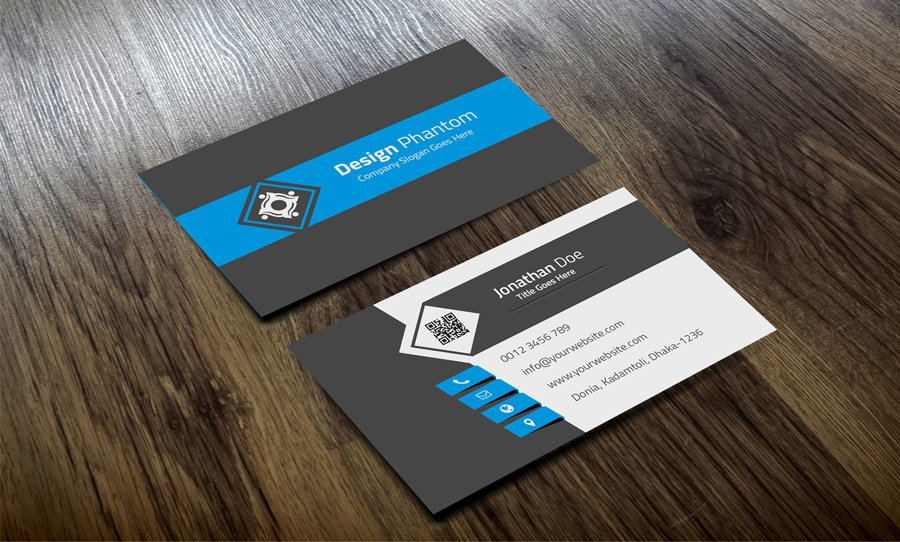 Free Business Card PSD 10