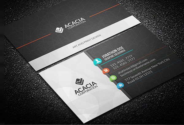 Free Business Card PSD 4