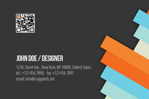 Free Business Card PSD 6