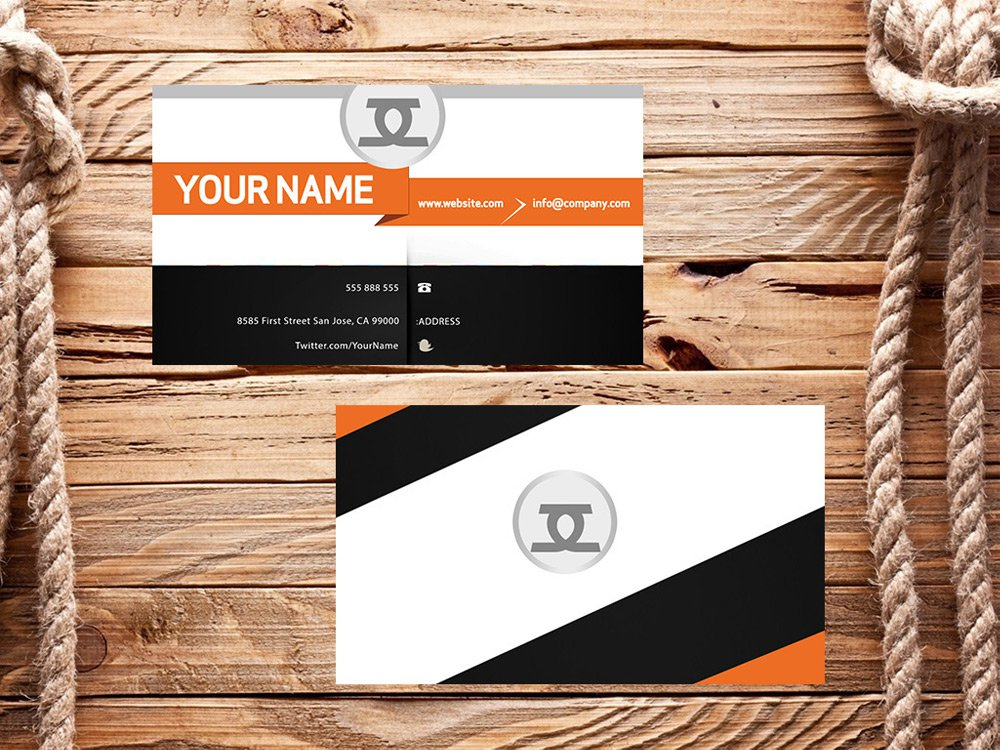 Free Business Card PSD 8