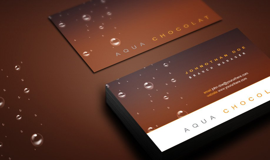 Free Business Card PSD 9