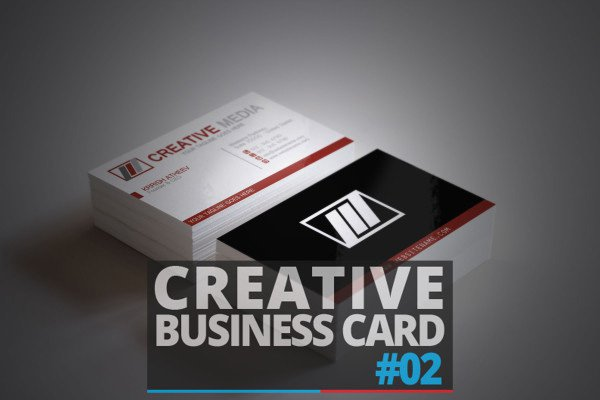Free Business Card Template PSD 5