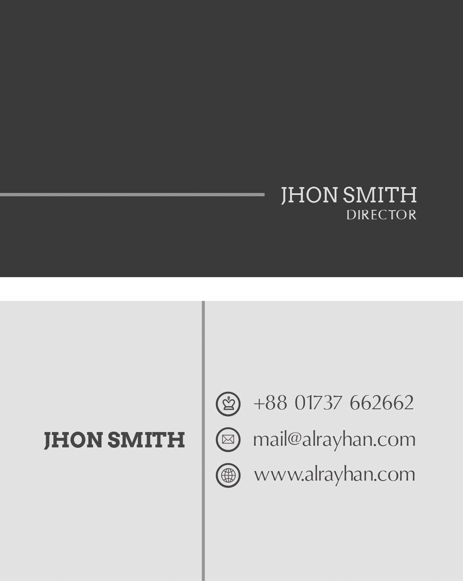 Free Clean Business Card