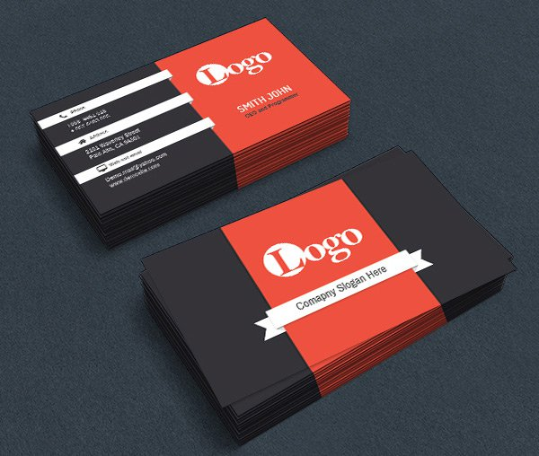 Free Corporate Business Card PSD 9