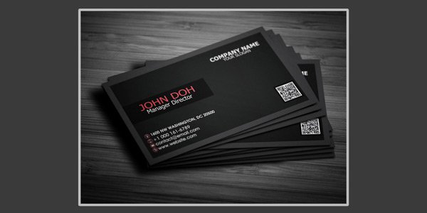 Free Creative Business Card PSD 2