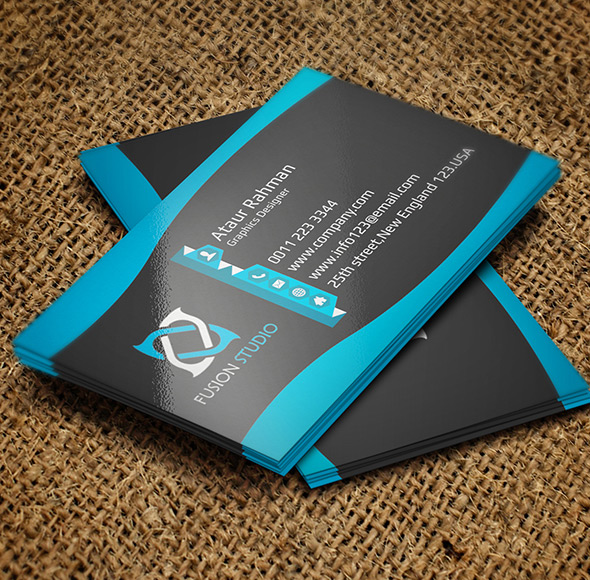 Free Creative Business Card PSD 3