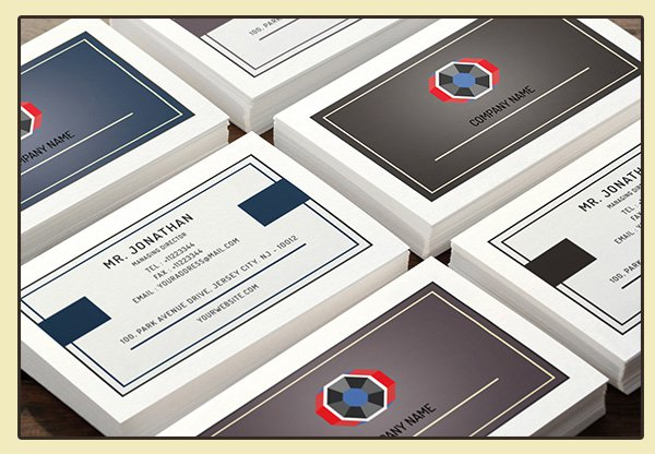 Free Minimal Business Card PSD 4