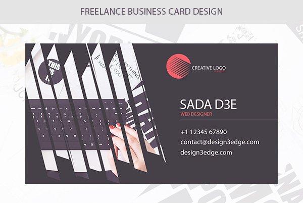 Freelance Business Card PSD