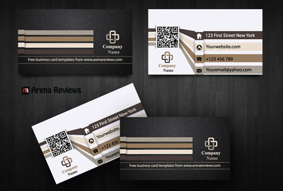 Infographics Business Card