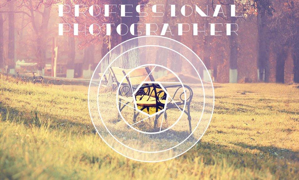 Photographer Business Card PSD