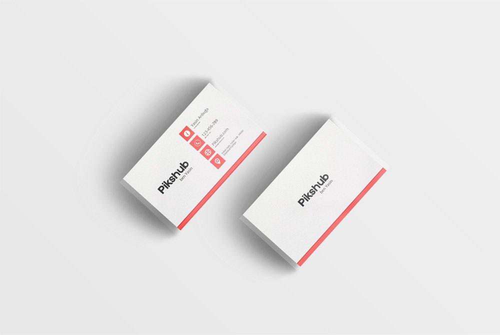 Simple Business Card PSD 3
