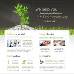 EcoBusiness Website Template