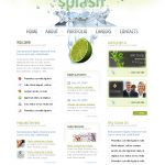 Splash Design Website Theme