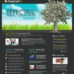 Financial Business Website Template