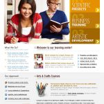 Online Learning Website Template