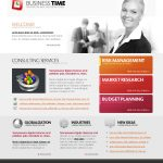 Business Time Website Template