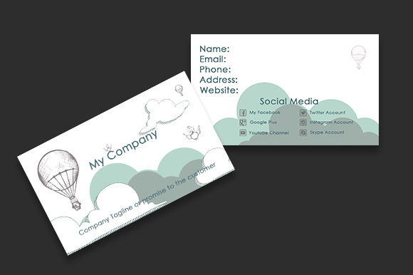 Sketched Business Card Templates Hand Or Style Designs Can Be Fun And Professional With A Personal Touch Download This Template Here