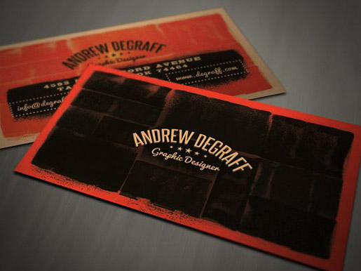 15 creative business card ideas using bold design themes such as grunge steampunk and industrial can create some pretty cool yet professional business cards download this template here reheart Images