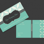 Vintage-Retro Business Card Template